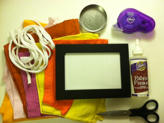T-shirt picture frame « Generation T
