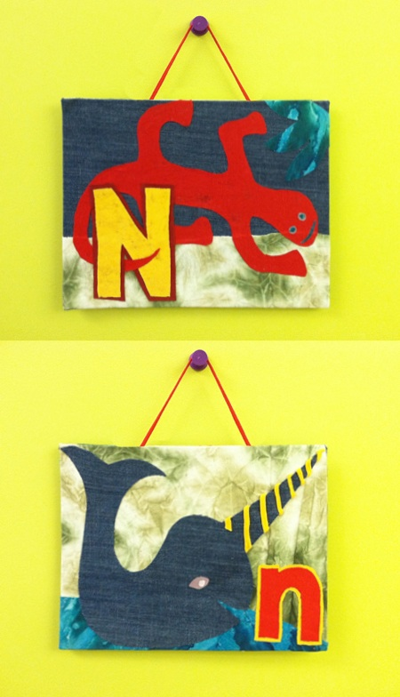 I Love to Create: A is for Animal Wall Decor « Generation T