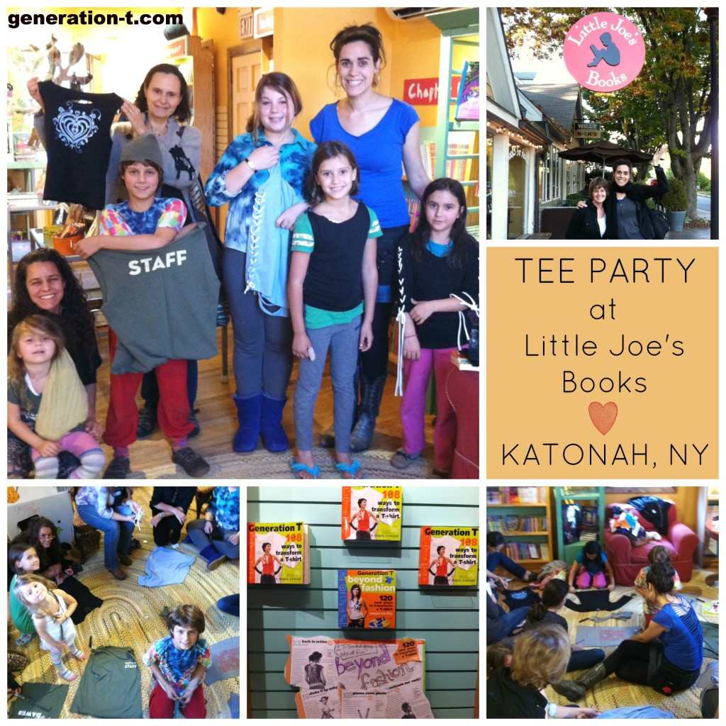 Little Joes Books Tee Party generation-t.com