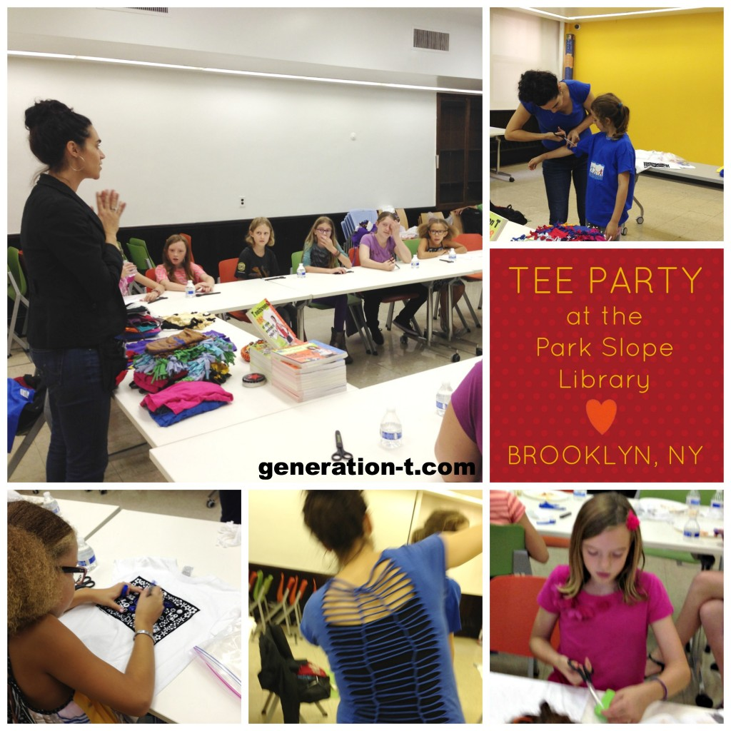 PSLibrary Tee Party generation-t.com