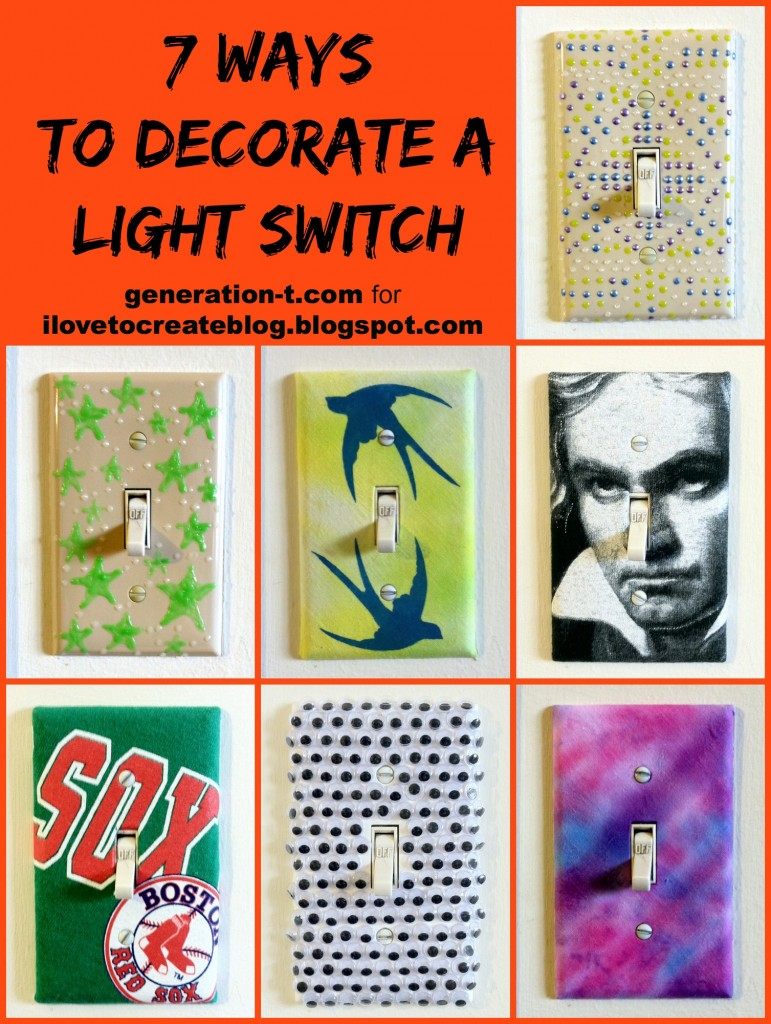 7 ways light switch plate generation-t.comllage