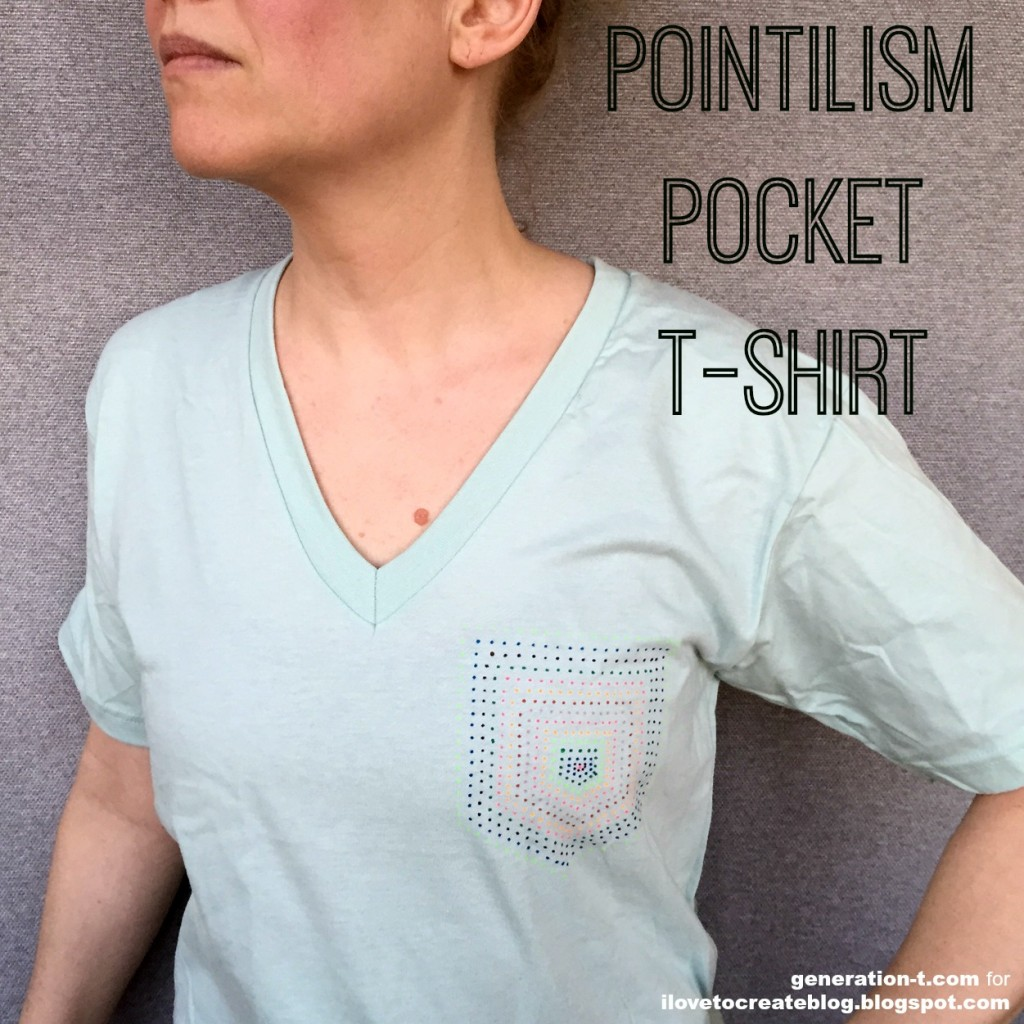PointilismPocketTee generation-t.com