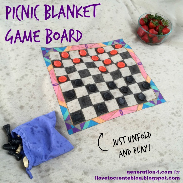 Picnic Blanket Game Board generation-t.com